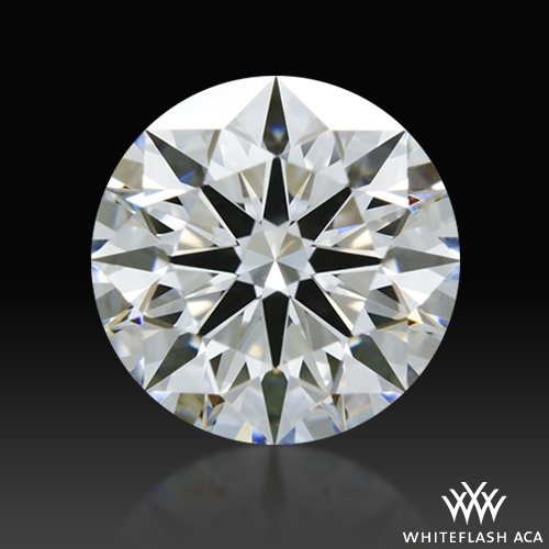 0.823 ct D VS1 A CUT ABOVE® Hearts and Arrows Super Ideal Round Cut Loose Diamond