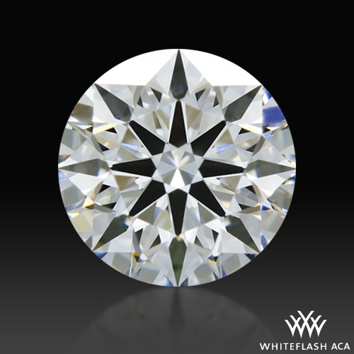 0.798 ct D VS1 A CUT ABOVE® Hearts and Arrows Super Ideal Round Cut Loose Diamond