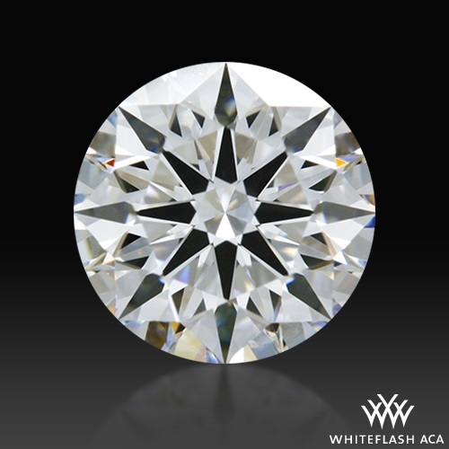 0.855 ct D VS1 A CUT ABOVE® Hearts and Arrows Super Ideal Round Cut Loose Diamond