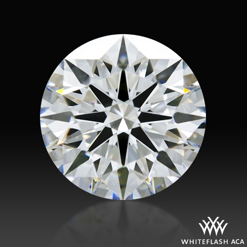 2.001 ct E VVS1 A CUT ABOVE® Hearts and Arrows Super Ideal Round Cut Loose Diamond