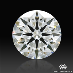 0.805 ct F VS1 A CUT ABOVE® Hearts and Arrows Super Ideal Round Cut Loose Diamond