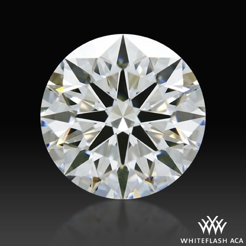 1.517 ct G VS1 A CUT ABOVE® Hearts and Arrows Super Ideal Round Cut Loose Diamond