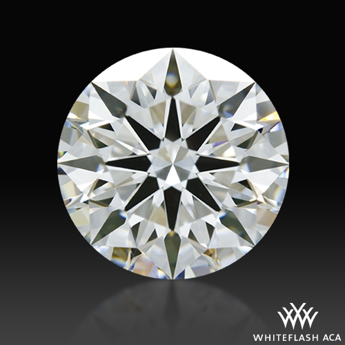 1.541 ct F VS1 A CUT ABOVE® Hearts and Arrows Super Ideal Round Cut Loose Diamond