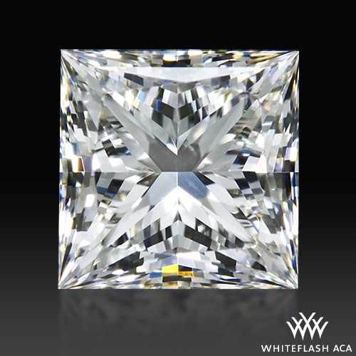 0.504 ct H SI1 A CUT ABOVE® Princess Super Ideal Cut Diamond