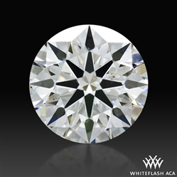 0.72 ct G SI1 A CUT ABOVE® Hearts and Arrows Super Ideal Round Cut Loose Diamond
