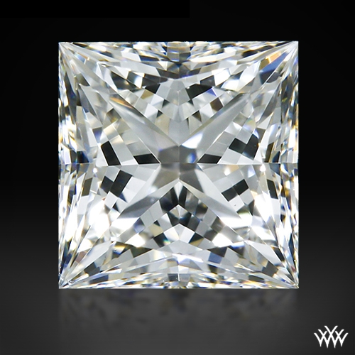 0.511 ct H VS2 A CUT ABOVE® Princess Super Ideal Cut Diamond