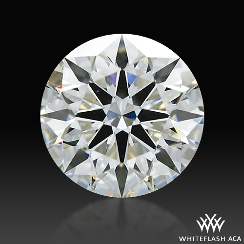 2.051 ct I SI1 A CUT ABOVE® Hearts and Arrows Super Ideal Round Cut Loose Diamond