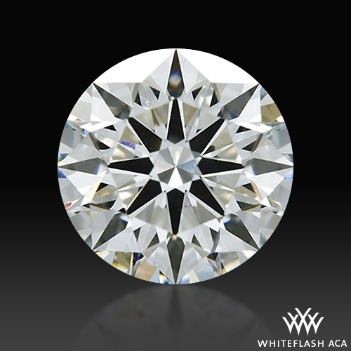 1.231 ct I SI1 A CUT ABOVE® Hearts and Arrows Super Ideal Round Cut Loose Diamond