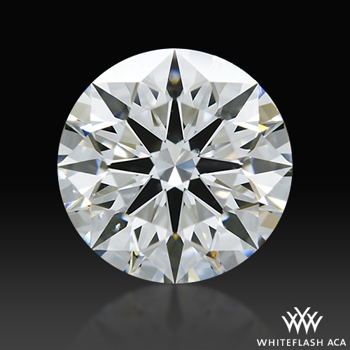 1.077 ct G VS2 A CUT ABOVE® Hearts and Arrows Super Ideal Round Cut Loose Diamond