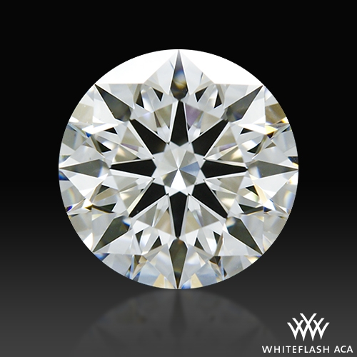 1.118 ct F VS1 A CUT ABOVE® Hearts and Arrows Super Ideal Round Cut Loose Diamond