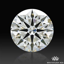 1.133 ct G VS1 A CUT ABOVE® Hearts and Arrows Super Ideal Round Cut Loose Diamond