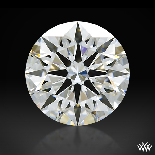 1.073 ct F VS1 A CUT ABOVE® Hearts and Arrows Super Ideal Round Cut Loose Diamond