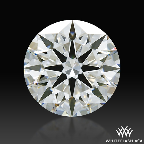 1.011 ct F VS1 A CUT ABOVE® Hearts and Arrows Super Ideal Round Cut Loose Diamond