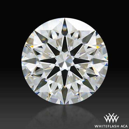1.113 ct G VS2 A CUT ABOVE® Hearts and Arrows Super Ideal Round Cut Loose Diamond