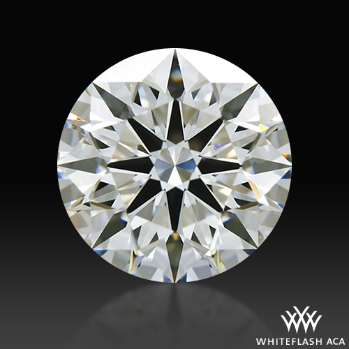 1.182 ct G VS1 A CUT ABOVE® Hearts and Arrows Super Ideal Round Cut Loose Diamond