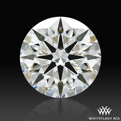 1.013 ct H VS1 A CUT ABOVE® Hearts and Arrows Super Ideal Round Cut Loose Diamond
