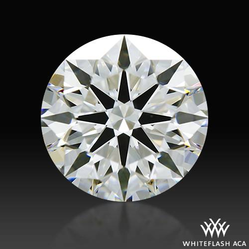 1.153 ct H VS1 A CUT ABOVE® Hearts and Arrows Super Ideal Round Cut Loose Diamond