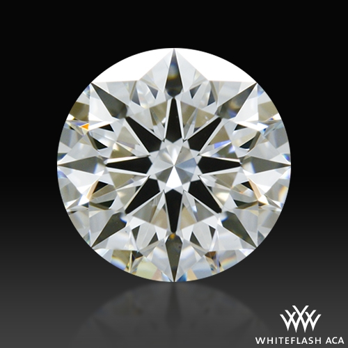 0.724 ct F VS2 A CUT ABOVE® Hearts and Arrows Super Ideal Round Cut Loose Diamond