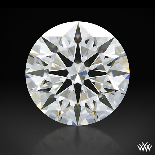 1.09 ct D VVS2 A CUT ABOVE® Hearts and Arrows Super Ideal Round Cut Loose Diamond