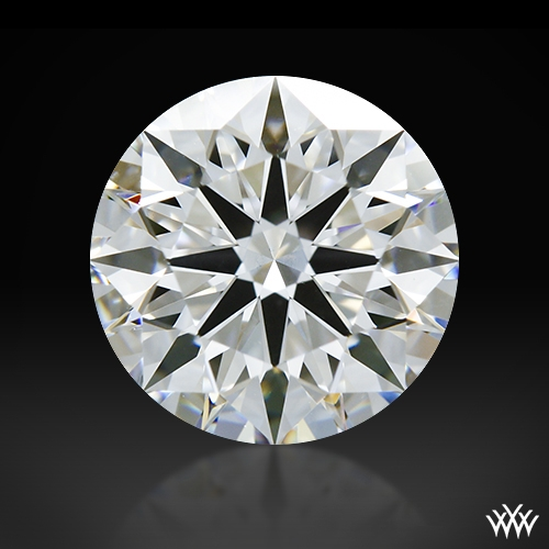 1.261 ct D VVS2 A CUT ABOVE® Hearts and Arrows Super Ideal Round Cut Loose Diamond