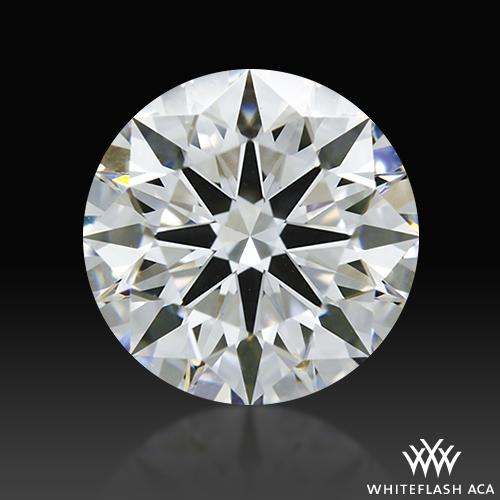 1.056 ct E VS1 A CUT ABOVE® Hearts and Arrows Super Ideal Round Cut Loose Diamond