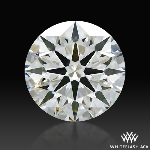 1.503 ct H VS1 A CUT ABOVE® Hearts and Arrows Super Ideal Round Cut Loose Diamond