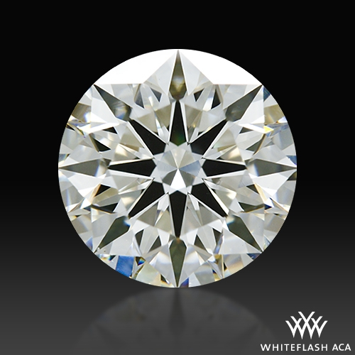 1.315 ct I VS1 A CUT ABOVE® Hearts and Arrows Super Ideal Round Cut Loose Diamond