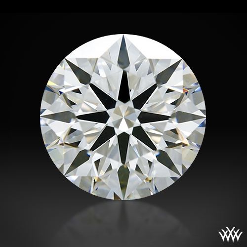 1.557 ct G VS2 A CUT ABOVE® Hearts and Arrows Super Ideal Round Cut Loose Diamond