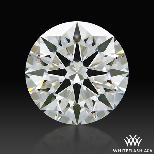 1.087 ct G VS2 A CUT ABOVE® Hearts and Arrows Super Ideal Round Cut Loose Diamond