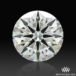 1.708 ct H VS1 A CUT ABOVE® Hearts and Arrows Super Ideal Round Cut Loose Diamond