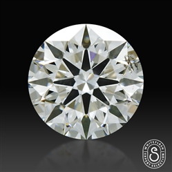 0.626 ct H SI1 Expert Selection Round Cut Loose Diamond