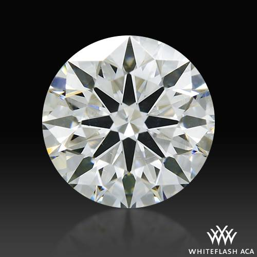 0.614 ct H SI2 A CUT ABOVE® Hearts and Arrows Super Ideal Round Cut Loose Diamond