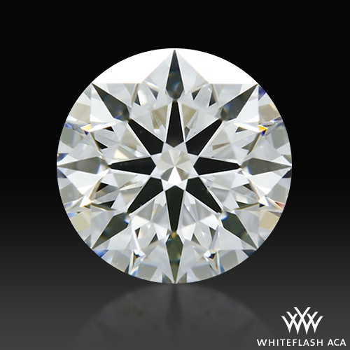 0.60 ct E VVS1 A CUT ABOVE® Hearts and Arrows Super Ideal Round Cut Loose Diamond