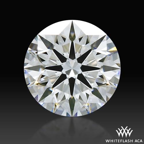 0.824 ct D VVS2 A CUT ABOVE® Hearts and Arrows Super Ideal Round Cut Loose Diamond
