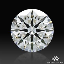 0.824 ct D VVS2 A CUT ABOVE® Hearts and Arrows Super Ideal Round Cut Loose Diamond