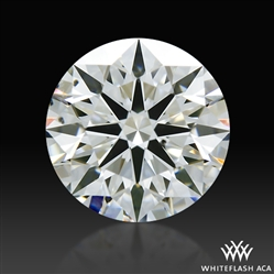0.615 ct G SI1 A CUT ABOVE® Hearts and Arrows Super Ideal Round Cut Loose Diamond