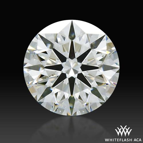 0.614 ct G SI1 A CUT ABOVE® Hearts and Arrows Super Ideal Round Cut Loose Diamond