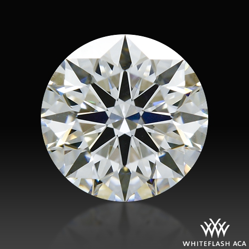 0.778 ct F VS2 A CUT ABOVE® Hearts and Arrows Super Ideal Round Cut Loose Diamond