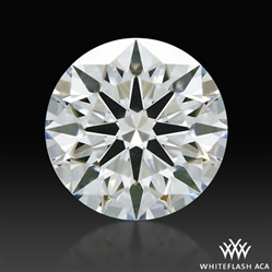 0.718 ct F VS1 A CUT ABOVE® Hearts and Arrows Super Ideal Round Cut Loose Diamond