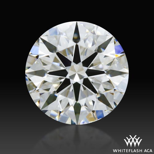 0.535 ct E VS2 A CUT ABOVE® Hearts and Arrows Super Ideal Round Cut Loose Diamond