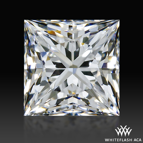 1.00 ct F VS1 A CUT ABOVE® Princess Super Ideal Cut Diamond