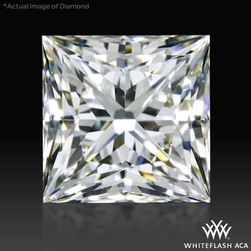 0.741 ct I VS2 A CUT ABOVE® Princess Super Ideal Cut Diamond