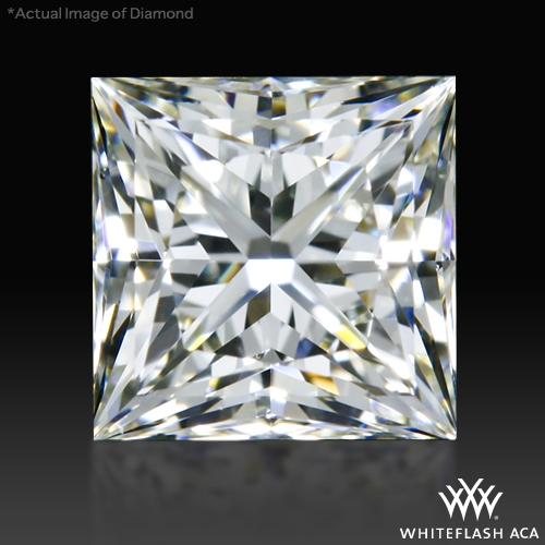 0.741 ct I VS2 A CUT ABOVE® Princess Super Ideal Cut Diamond