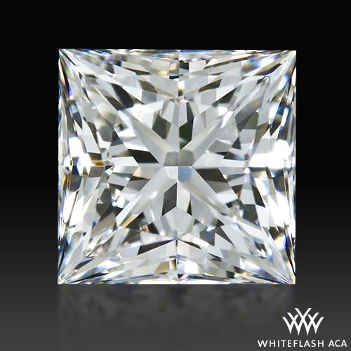 0.58 ct G VS2 A CUT ABOVE® Princess Super Ideal Cut Diamond