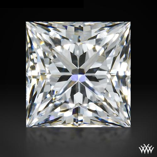 0.536 ct F VVS1 A CUT ABOVE® Princess Super Ideal Cut Diamond