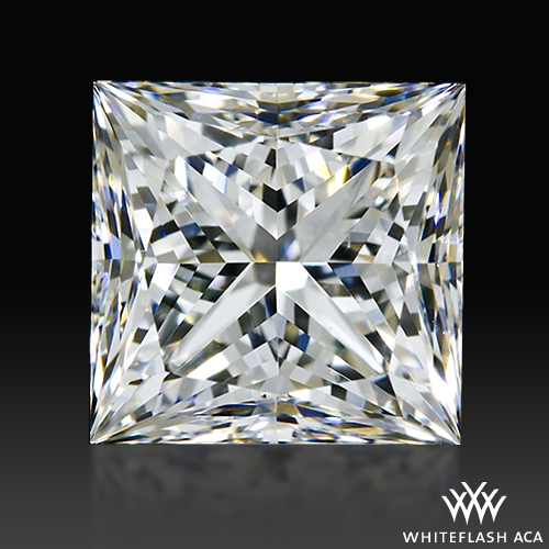 1.14 ct H VS2 A CUT ABOVE® Princess Super Ideal Cut Diamond