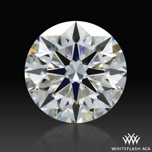 0.532 ct F VS2 A CUT ABOVE® Hearts and Arrows Super Ideal Round Cut Loose Diamond
