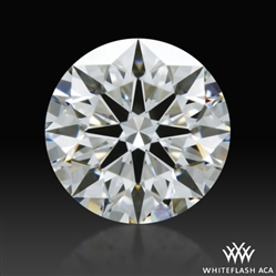 0.618 ct G VS1 A CUT ABOVE® Hearts and Arrows Super Ideal Round Cut Loose Diamond