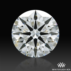 0.554 ct G VS1 A CUT ABOVE® Hearts and Arrows Super Ideal Round Cut Loose Diamond