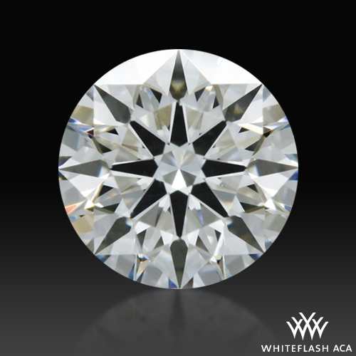 0.548 ct H VS2 A CUT ABOVE® Hearts and Arrows Super Ideal Round Cut Loose Diamond